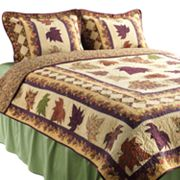 Hedaya Autumn Leaves Quilt Set
