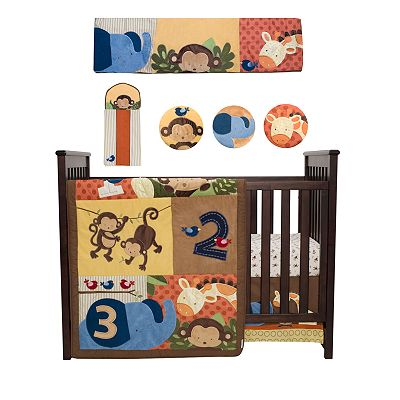 Kids Line Jungle 1, 2, 3 Bedding Coordinates