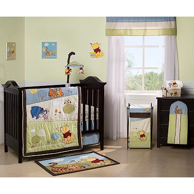 Disney Winnie the Pooh and Friends Friendship Pooh Bedding Coordinates by Kids Line