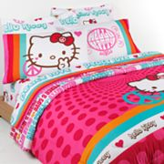 Hello Kitty Peace Bed Set