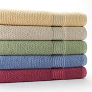 Croft and Barrow Quick-Drying Bleach-Friendly Bath Towels
