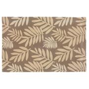 L.R. Resources Fashion Fern Rug