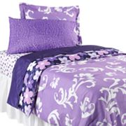 Twist by Jackie Grape Gatsby Bed Set