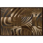 Momeni Abstract Zebra Rug