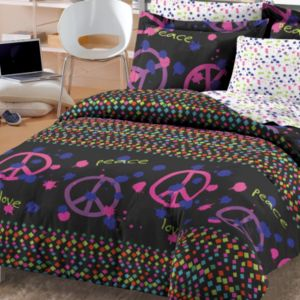 Peace Sign Bedding Totally Kids Totally Bedrooms Kids