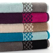 Apt. 9 Triangle Bath Towels
