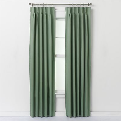 A.L. Ellis Crosby Pinch-Pleat Window Panel Pair