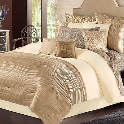 fuentes gold dust full comforter bedskirt sham 3 piece set ebay