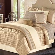daisy fuentes Gold Dust Quilted Coverlet