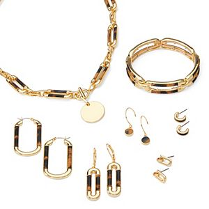 Nine West Cheetah Jewelry Collection
