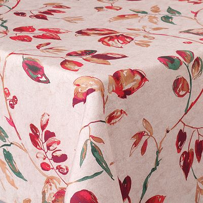 Food Network Harvest Plum Tablecloth