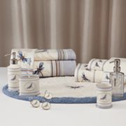 Croft and Barrow Dragonfly Valley Striped Bath Accessories