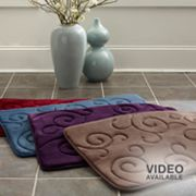 Mohawk Home Scroll Memory Foam Bath Rugs