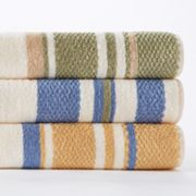 Croft and Barrow Striped Quick-Drying Bleach-Friendly Bath Towels