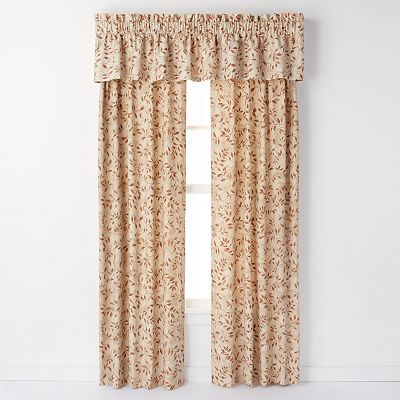 Ellis Curtain Beverly Leaf Window Treatments
