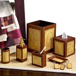 Avanti Christmas Adirondack Pine Bathroom Accessories Collection
