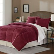 SONOMA life + style  Reversible Down-Alternative Comforter Set