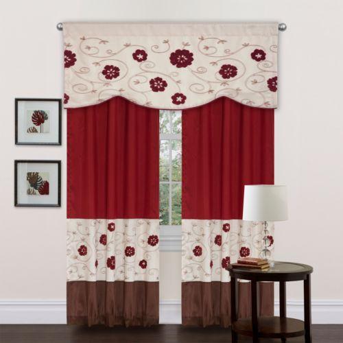 Lush Decor Royal Embrace Window Treatments