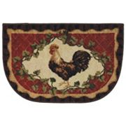 Mohawk Home Framed Rooster Kitchen Rug