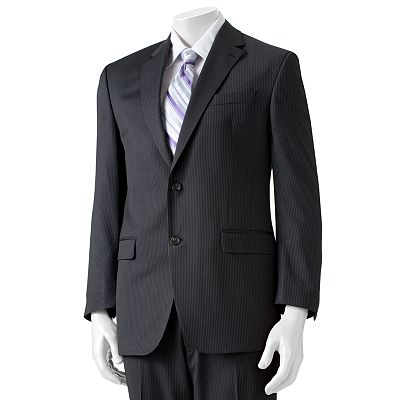 Chaps Classic-Fit Pinstripe Wool Suit Separates