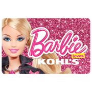 Barbie Loves Kohl's Gift Card