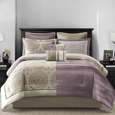 Croft and Barrow Tribecca 8-pc. Reversible Comforter Set