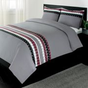 Home Classics Benson 3-pc. Duvet Cover Set