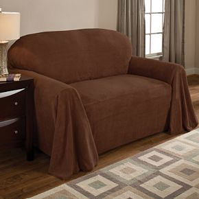 Coral Fleece Furniture Throws