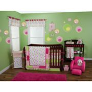 Trend Lab Splash Pink Bedding Coordinates