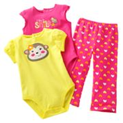 Jumping Beans Monkey Separates - Baby