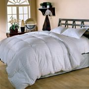 Royal Majesty Supreme Damask Striped Down Comforter