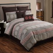 HFI Pauline Medallion 8-pc. Comforter Set
