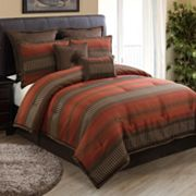 HFI Russell Striped 8-pc. Comforter Set