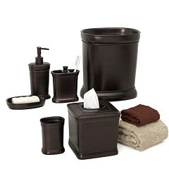 Zenna Home Marion Bathroom Accessories Collection