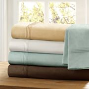 Premier Comfort Solid 400-Thread Count Sateen Sheet Set