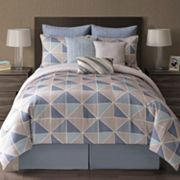 Metropolis Langdon 9-pc. Reversible Comforter Set