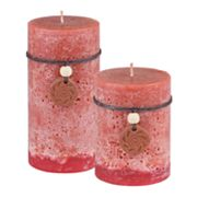 SONOMA life + style Red Currant Pillar Candles