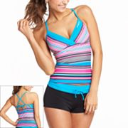 ZeroXposur Striped Swim Separates
