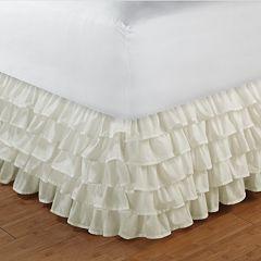 Tiered Ruffle Bedskirt