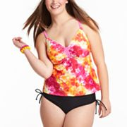 SO Floral Swim Separates - Juniors' Plus