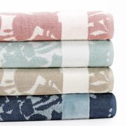 SONOMA life + style Ultimate Performance Floral Bath Towels