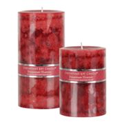 Strawberry Harvest Pillar Candles