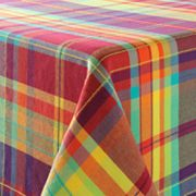 SONOMA life + style Bright Plaid Tablecloth