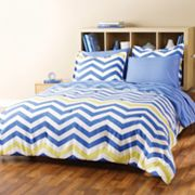 City Scene Zigzag Bed Set
