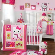 Hello Kitty Garden Bedding Coordinates by Lambs and Ivy