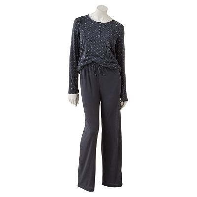 Croft and Barrow Inner Self Pajama Separates