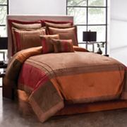 Redwood Pieced 8-pc. Comforter Set