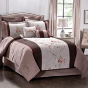 Regal Vine Embroidered 8-pc. Comforter Set
