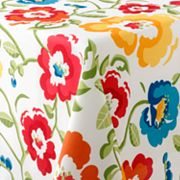 Food Network Fresh Bouquet Tablecloth