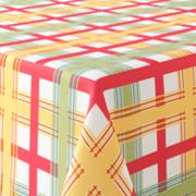 Food Network Farm Plaid Tablecloth
